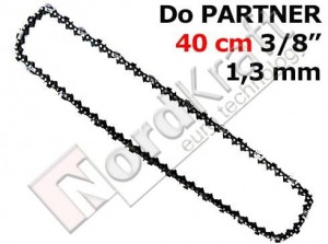 "Łańcuch do PARTNER 40cm (16\)/ 3/8"" 1,3mm 56 ogniw CZPIL-0186"