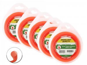 Trimmer Line 2mm/10m ECO-TRIM (round) Z.KOS-0079 (5 PCS)